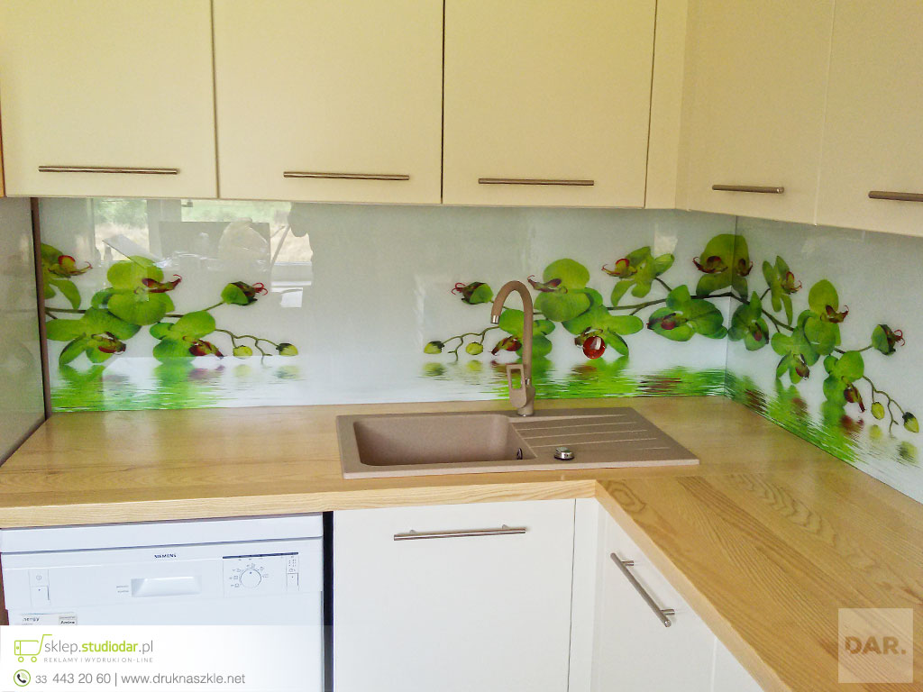 Modne ubrania Panele szklane do kuchni i łazienki z nadrukiem +33 443 20 60 HG36
